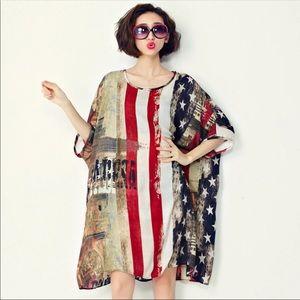 Fashionable loose dress